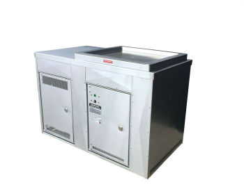 Single Cabinet with Stainless Steel Cladding