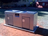 DCSS6 Double stainless steel cabinet in Northern Territory