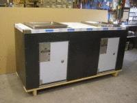 DCPC23 Double cabinet with Queensize electric BBQs