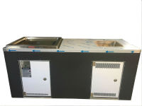 1 x electric BBQ with sink (2070mm x 750mm)