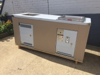 Double cabinet with BBQ & Sink